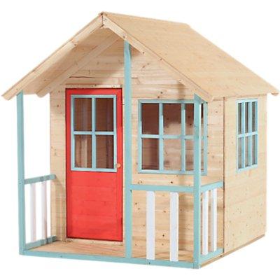 TP Toys Alpine Cottage Playhouse, Brown