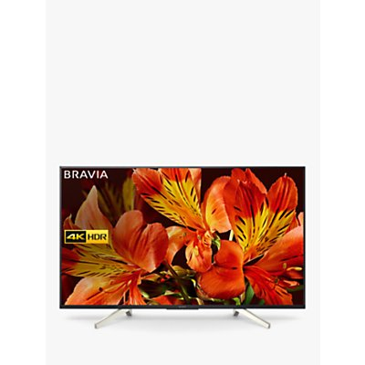 Sony Bravia KD75XF8596 LED HDR 4K Ultra HD Smart Android TV, 75 with Freeview HD & Youview, Black