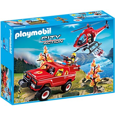 Playmobil City Action Forest Fire Club Set