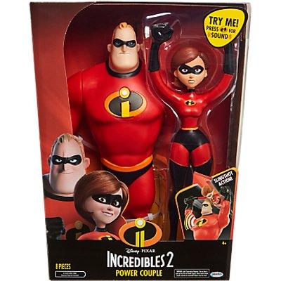 Disney Pixar The Incredibles 2 Power Couple Figures