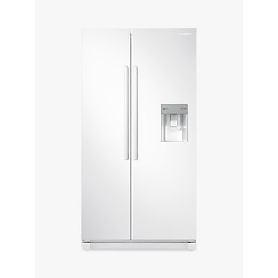 Samsung RS52N3313WW American-Style Freestanding 65/35 Fridge Freezer, A+ Energy Rating, 91cm Wide, W