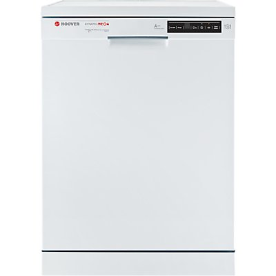 Hoover Dynamic Mega HDP 2D62W Freestanding Dishwasher  White - 8016361930629