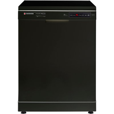 Hoover Dynamic Mega HDP 2D62B Freestanding Dishwasher  Black - 8016361935457