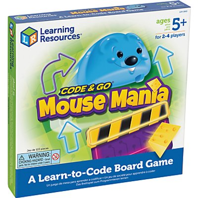 Learning Resources Code & Go Mouse Mania: A Learn-to-Code Board Game
