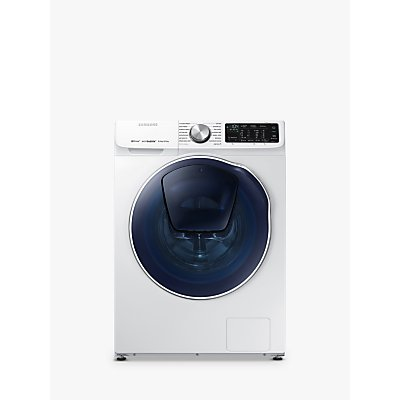 Samsung WD80N645OOW Washer Dryer, 8kg Wash/5kg Dry Load, A Energy Rating, 1400rpm Spin, White