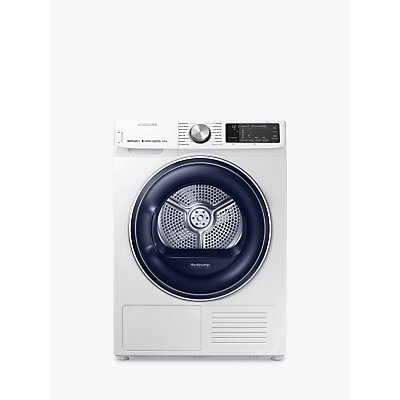Samsung DV80N62542W/EU Heat Pump Tumble Dryer, 8kg Load, A+++ Energy Rating, White