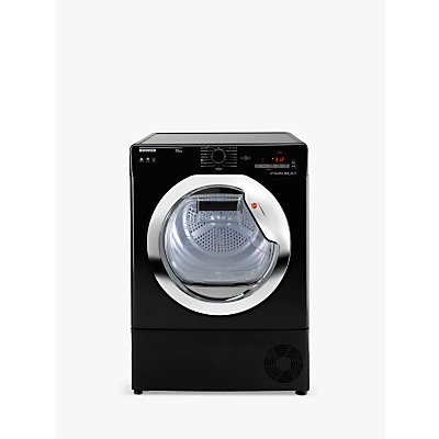 Hoover DX C10TCEB-80 Freestanding Condenser Tumble Dryer with NFC, 10kg Load, B Energy Rating, Black