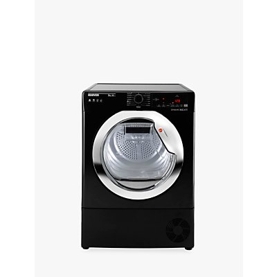 Hoover DX H9A2TCEB Freestanding Heatpump Tumble Dryer with NFC, 9kg Load, A++ Energy Rating, Black
