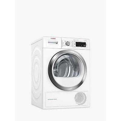 Bosch WTW87561GB Heat Pump Tumble Dryer, 9kg Load, A++ Energy Rating, White