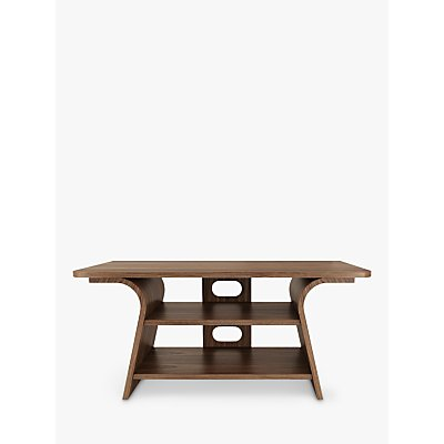 Tom Schneider Chloe 1000 TV Stand for TVs up to 45, Natural Walnut