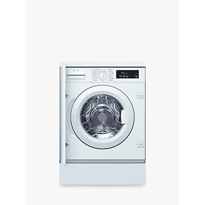 Neff W543BX0GB Integrated Washing Machine, 8kg Load, A+++ Energy Rating, 1400rpm Spin, White