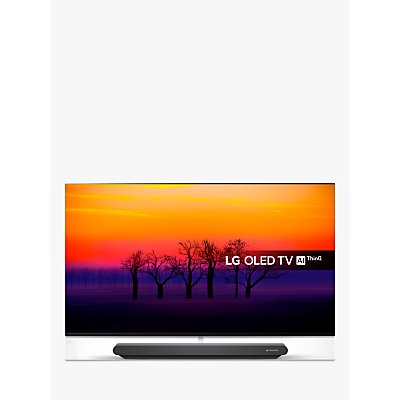 LG OLED65G8PLA Signature OLED HDR 4K Ultra HD Smart TV, 65 with Freeview Play/Freesat HD, One-Glass Design & Dolby Atmos Sound Base Unit, Ultra HD Certified, Black