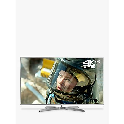 Panasonic TX-75FX750B LED HDR 4K Ultra HD Smart TV, 75 with Freeview Play/Freesat HD, Silver