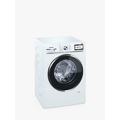 Siemens WM14YH79GB Freestanding Washing Machine with Home Connect, 9kg Load, A+++ Energy Rating, 1400rpm Spin, White