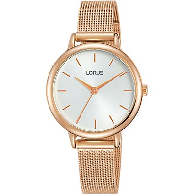 Lorus Women s Mesh Bracelet Strap Watch - 4894138339950