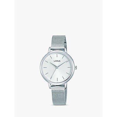 Lorus Women s Mesh Bracelet Strap Watch - 4894138339943