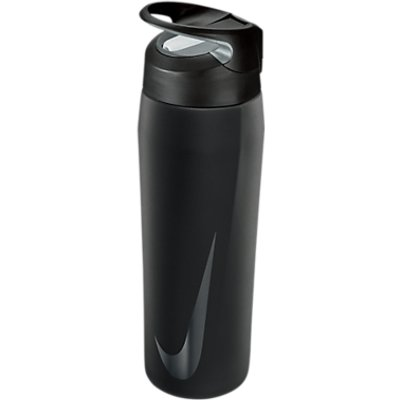 Nike 709ml Stainless Steel Waterbottle  Black Anthracite White - 887791173539