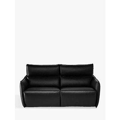Natuzzi Stupore 193 Leather Loveseat with Power Motion
