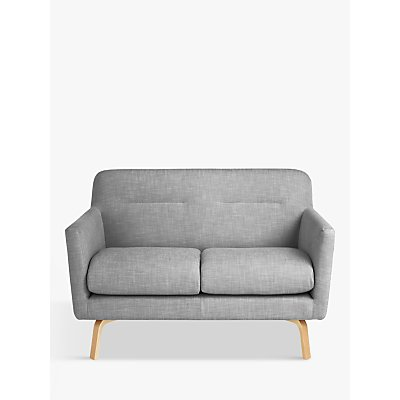 House by John Lewis Archie II Small 2 Seater Sofa, Saga Grey