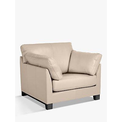 John Lewis & Partners Ikon Armchair, Dark Leg, Nature Putty