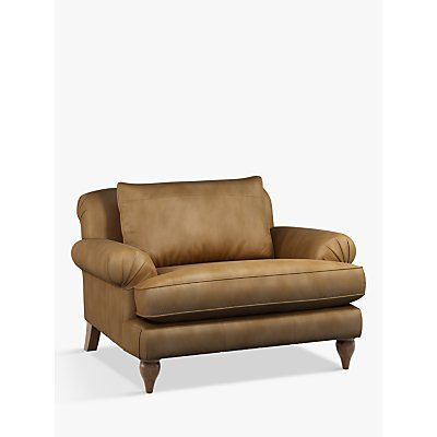 Croft Collection Findon Leather Snuggler, Dark Leg