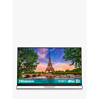 Hisense 75U9A ULED HDR 4K Ultra HD Smart TV, 75 with Freeview Play, Ultra HD Premium Certified, Black/Silver