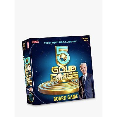 John Adams 5 Gold Rings Board Game