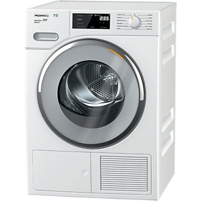 Miele TWF505WP Heat Pump Freestanding Tumble Dryer, 8kg Load, A+++ Energy Rating, White