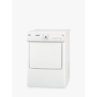 Zanussi ZTE7101PZ Vented Tumble Dryer, 7kg Load, C Energy Rating, White