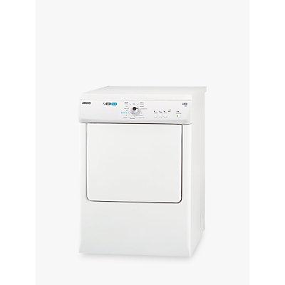 Zanussi ZTE7101PZ Vented Tumble Dryer, 7kg Load, C Energy Rating, White