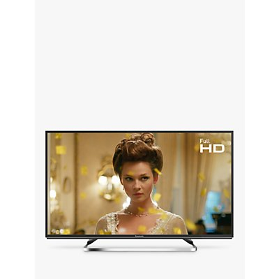 Panasonic TX-40FS503B LED HDR Full HD 1080p Smart TV, 40 with Freeview Play/Freesat HD, Black