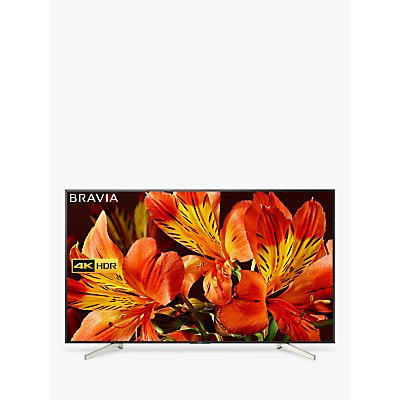 Sony Bravia KD85XF8596 LED HDR 4K Ultra HD Smart Android TV, 85 with Freeview HD & Youview, Black