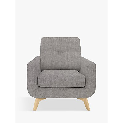 John Lewis & Partners Barbican Armchair, Light LegJohn Lewis & Partners Barbican Armchair, Light Leg, Stanton French Grey