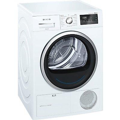 Siemens WT45M231GB Heat Pump Tumble Dryer  8kg Load  A   Energy Rating  White - 4242003834480