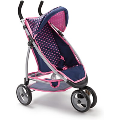 John Lewis & Partners Baby Doll Single Jogger