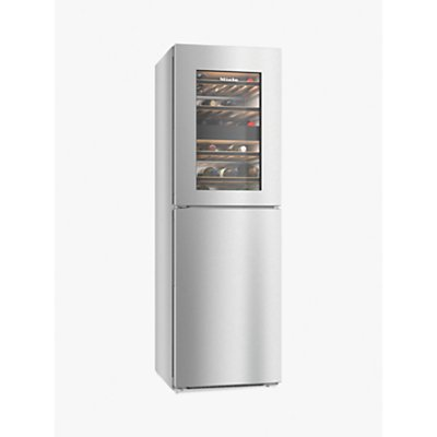 Miele KWNS28462E Freestanding Fridge Freezer, A++ Energy Rating, Silver
