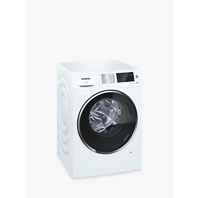 Siemens WD14U520GB Washer Dryer, 10kg Wash/6kg Dry Load, A Energy Rating, 1400rpm Spin, White