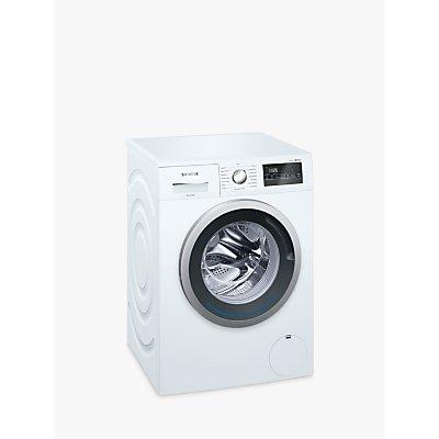 Siemens iQ300 WM14N201GB Freestanding Washing Machine, 8kg Load, A+++ Energy Rating, 1400rpm Spin, White