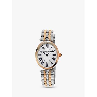 Fr  d  rique Constant FC 200MPW2V2B Women s Classics Art Deco Bracelet Strap Watch  Rose Gold Silver - 7688200300842