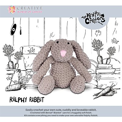 5052201029170 | Knitty Critters Ralphy Rabbit Crochet Kit