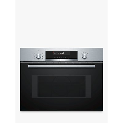 Bosch CMA585MS0B Built In Microwave with Hotair Grill  Stainless Steel - 4242005036639