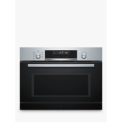 Bosch CPA565GS0B Built In Microwave with Hotair Grill  Stainless Steel - 4242005036196