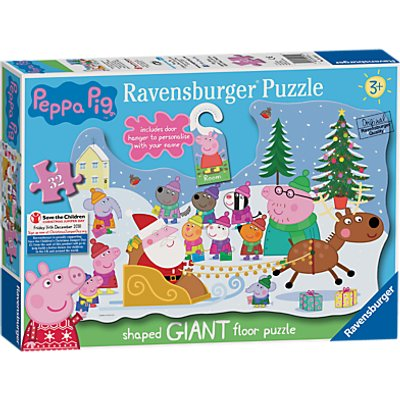 Ravensburger Peppa Pig Christmas Floor Jigsaw Puzzle, 32 Pieces