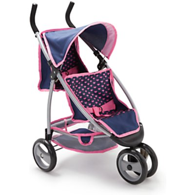 John Lewis & Partners Baby Doll Twin Jogger
