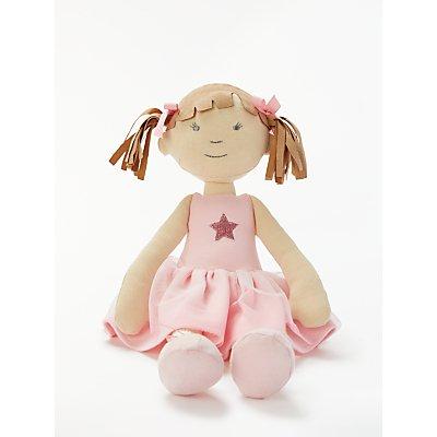 John Lewis & Partners Fairy Ballerina Ragdoll Soft Toy