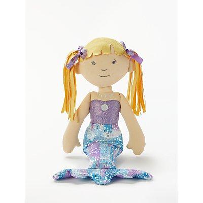 John Lewis & Partners Mermaid Ragdoll Soft Toy