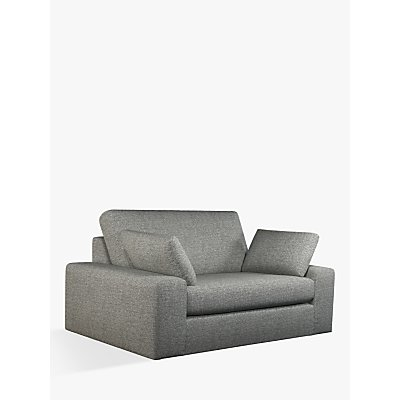 John Lewis & Partners Prism Small 2 Seater Sofa, Light Leg, Windsor Charcoal