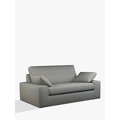 John Lewis & Partners Prism Medium 2 Seater Sofa, Light Leg, Windsor Charcoal