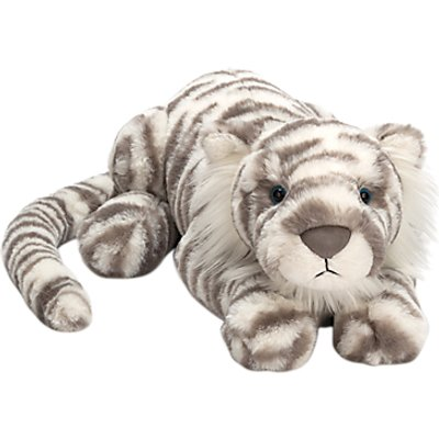 Jellycat Sacha Snow Tiger Soft Toy