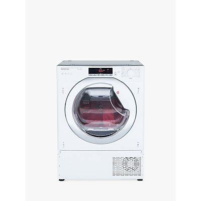 Hoover HTDBW H7A1TCE Integrated Tumble Dryer with NFC, 7kg Load, A+ Energy Rating, White